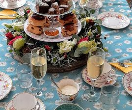 high tea bloem